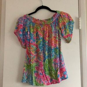 Lily Pulitzer top.  Like new